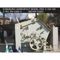 UNUSED (NEVER USED) KOBUKURO-HARDOPACT MODEL PEH-3 100/105 IMPACT CRUSHER S/NO. PH-2369III thumbnail image