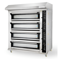 Modern Type 4 Decks Electric Oven