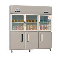 Large Capacity Stainless Steel Upright Kitchen Freezer On Sale
