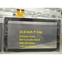usb iic interface pcap touchscreen panel 10 points touch thumbnail image