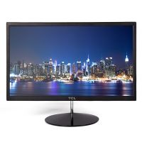 TCL 21.5'' black slim fashion computer monitor lcd display