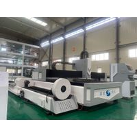 plate and tube integrated laser cutting machine