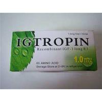 China Original Igtropin HGH 1000mcg/1.0mg 10 vials 10000mcgKit Somatropin For Sale Lowest Price thumbnail image
