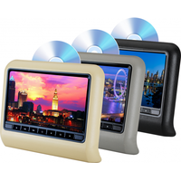 9 inch Clip-on Rear-seat DVD Player with Touch Button