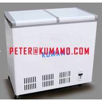 DC solar deep freezer