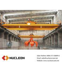 Nucleon QZ Type Double Girder Grab Crane 50T