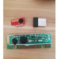 Combo wireless mouse RF module and keyboard RF PCBA share same recever