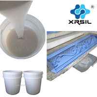 SILICON RUBBER for making gypsum cornice mould