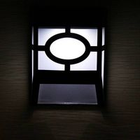 2led stainless steel waterproof led stair lamp solar lights fence lamp Sensor Switch thumbnail image