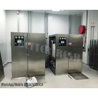 Split Manually operated door Cooked vacuum cooler fast cooling with stainless steel