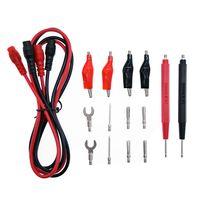 Wholesale Multi Function Probe Test Lead Wire Cable Banana Plug Alligator clip
