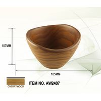 High demand wooden salad bowl