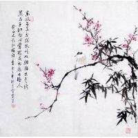 Chinese flower-bird painting