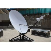 Alignsat 1.8m C and Ku band Carbon Fiber Flyaway Antenna