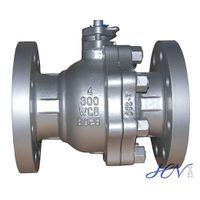 Soft Seated Cast Steel Flanged Floating Ball Valve thumbnail image