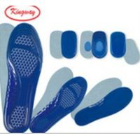 New Designed Men & Women Size Full Length Silicone Insole, Shock Absorbing Gel Padding