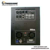 DSP-2212, audio amplifier board for active subwoofer DSP control pre-set recall 1200W + 1200W 2 in 2