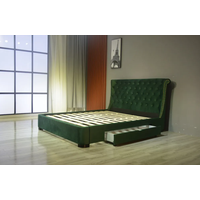 Genuine Leather PU Drawer Bed thumbnail image