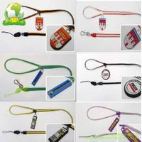 Zipper Lanyards with PVC Badge