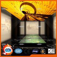 Home decor film artistical design for ceiling and panel