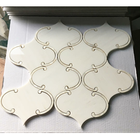 white century marble mosaic for sale lander stone white marble irregular polish mosaic for bathroom