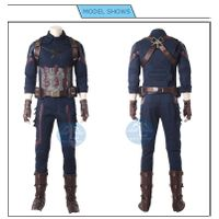 Avengers Infinity war captain america high quality cosplay costume