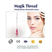 CE approved PDO thread lift absorbable suture magik thread pdo