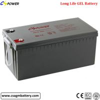 CG12-200 Buy Rechargeable Gel Battery 12V200ah for Solar&Backup System