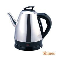CE 1.8L home cordless electric stainless steel kettle boil dry protection