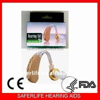 SL-V168 Mini Behind the ear Hearing aid For Promotional price Analog 4 New nursing home gift