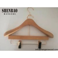 Paris Fashion Show Hot Sale Wooden Clothes Hangers