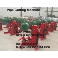 Ductile cast iron pipe cutting machine