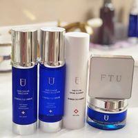 FTU deep-sea sturgeon roe age-reversing series FTU water cream cleanser FTU moisturizer moisturizer