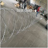 Competitive Price razor barbed wire concertina razor wire razor wire
