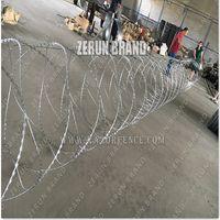 Competitive Price razor barbed wire concertina razor wire razor wire thumbnail image
