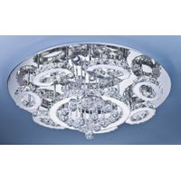 crystal ceiling lamp A483-88817/42+7