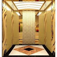 Glass&Mirror stainless steel china elevator lift