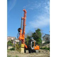 New piling / drilling rig Tescar CF6 DW