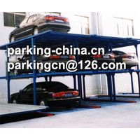 Pit lift parking system