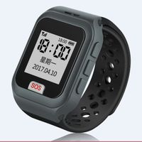 The Latest Design Heart Rate Monitor 2g GPS Watch for Senior Pedometer APP for Smart Phone thumbnail image