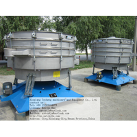 China 5 grades rotary vibrator sieve for plastic granule
