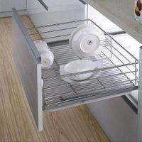 Multi-function Kitchen Drawer Basket for Dishes