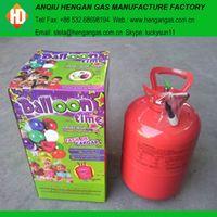 Helium tank helium gas