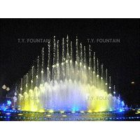 Grand Pond Musical Fountain with music control