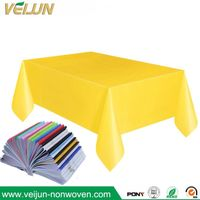 PP Nonwoven Fabric with Neon Red Color for Tablecloths,Non Woven Table Cloth