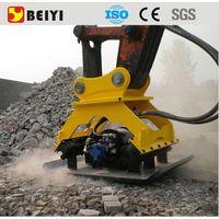 BEIYI LK03 excavator plate compactor hydraulic vibro compactor vibrating plate compactor