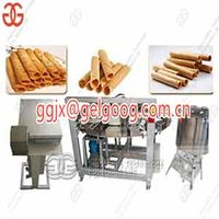 Automatic Electric Waffle Rolls Processing Line|Barquillos Baking Machine thumbnail image