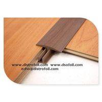 Min.6mm width heat transfer foil,on floor grooves