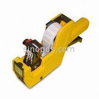 Price label tag gun, price tag sticker gun, Refillable Ink Roller Price Labeler Gun, Economy Labeler