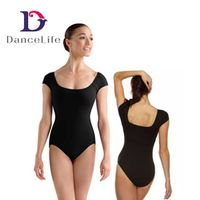 Cap sleeve ballet dance leotards